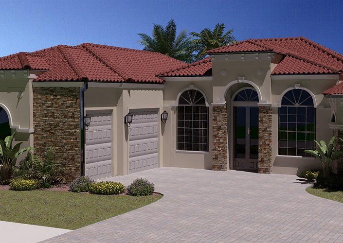 Florida House Architectural Visualization