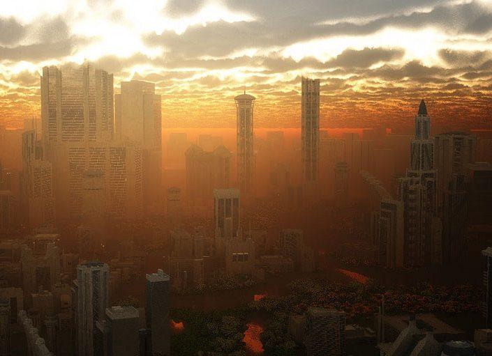 Sci-Fi Sunset